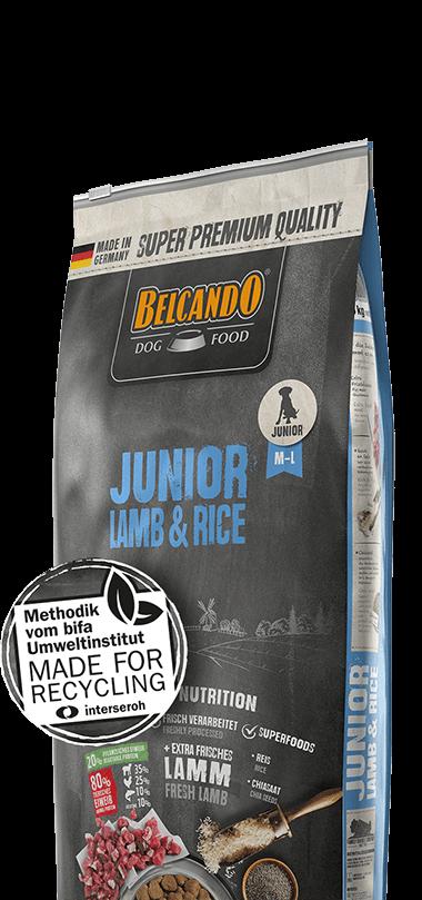 belcando-junior-lamb-rice-besonderheiten