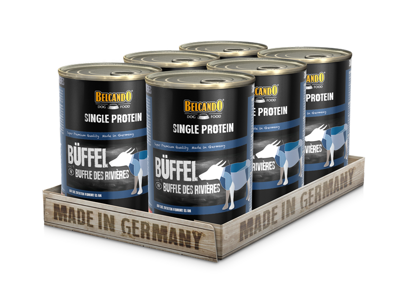 BELCANDO® Single Protein Büffel (6er Pack)