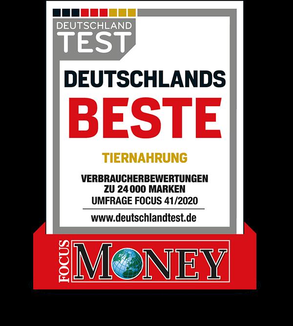 Deutschlands beste Tiernahrung