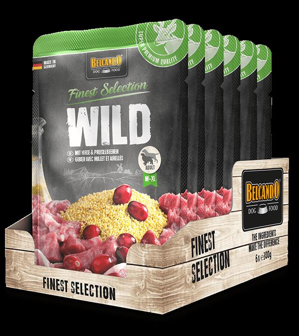 BELCANDO® Wild mit Hirse & Preiselbeeren (6 x 300g)