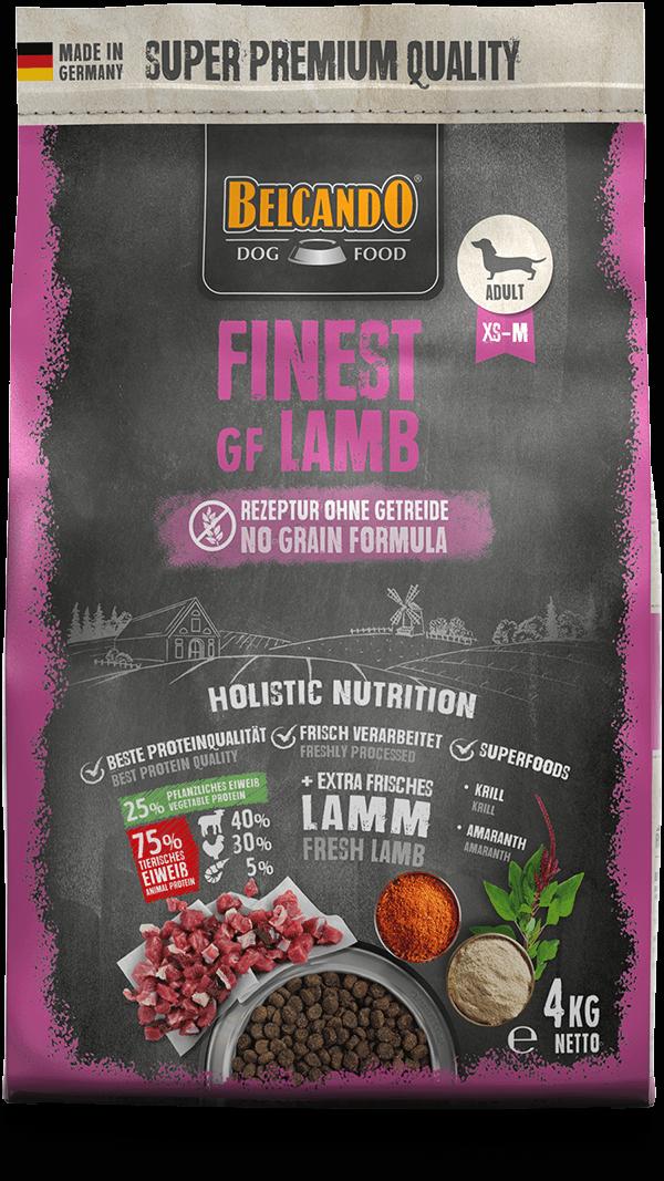 Belcando-Finest-GF-Lamb-4kg-front