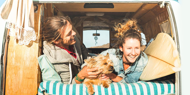 Camping mit Hund und Belcando