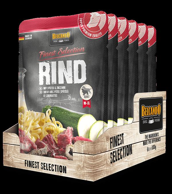 BELCANDO® Rind mit Spätzle & Zucchini  (6 x 300g)