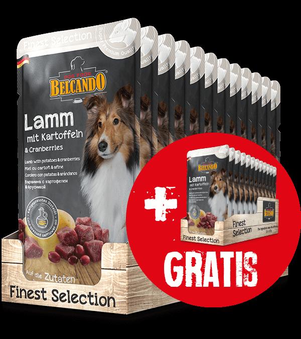 BELCANDO® Lamm mit Kartoffeln & Cranberries (12 x 125 g)