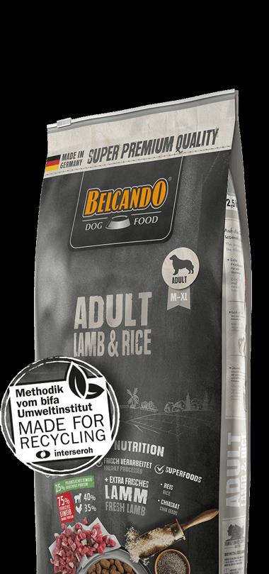 belcando-adult-lamb-rice-besonderheiten