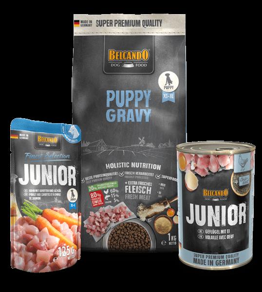 Belcando-Kennlernpaket-Puppy-Gravy