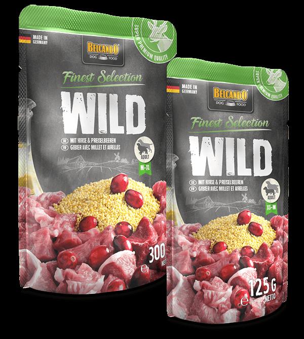 BELCANDO® Wild mit Hirse & Preiselbeeren (Multipack)