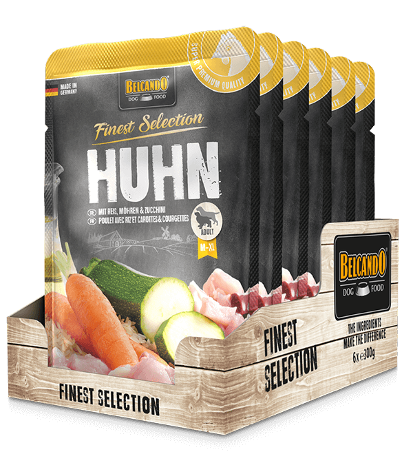 Belcando-Pouches-Tray-Huhn-300g