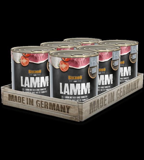BELCANDO® Lamm mit Reis & Tomaten (6 x 800g)